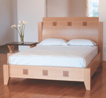 contemporary double bed ELEMENT KNOWLTON BROTHERS