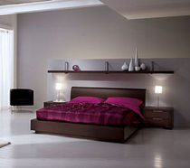 contemporary double bed ALHENA Mercantini Mobili