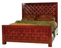 contemporary double bed BELCARA Michael Trayler Designs ltd.