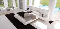 contemporary double bed with integrated bed-side table NADIR EXTENDED MAP ARREDAMENTI