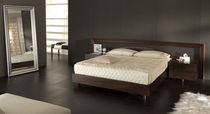 contemporary double bed with integrated bed-side table GENEVE GC di Colombo Giancarlo