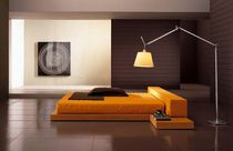 contemporary double bed with integrated bed-side table KRONOS Corazzin Group - Contract & hotel