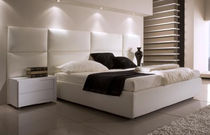 contemporary double bed with integrated bed-side table DIAMOND  SISTEMITALIA GROUP