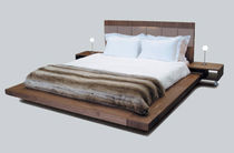 contemporary double bed with integrated bed-side table SAPHRA OCEANUS ASTRO SAXUM