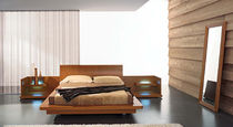 contemporary double bed with integrated bed-side table MAXIM : LIFE  Mobilificio Florida