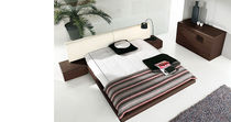 contemporary double bed with integrated bed-side table MODERN  Homes