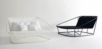 contemporary double garden sun lounger  BIG by Carlo Colombo  Arflex