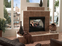 contemporary double-sided fireplace (gas closed hearth) TWILIGHT II QUADRA-FIRE