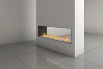 contemporary double-sided fireplace (gas closed hearth) CLEAR 150 Ortal USA