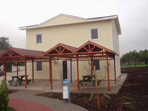 contemporary ecological modular prefab building for catering  TREYSAN PREFABRICATED STEEL CONS. IND. AND TRADE CORP.