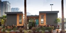 contemporary ecological wooden prefab house C6 Livinghomes