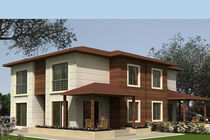 contemporary ecological wooden prefab house COLLECTION - SIGNATURE Baühu