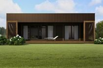 contemporary ecological wooden prefab house CUBE KL Nami