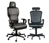 contemporary executive armchair (with headrest) E-CHAIR EVANS