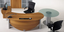 contemporary executive corner office desk TAZIO - PRESTIGE Uffix Concept by Uffix