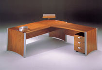 contemporary executive corner office desk ARCHIBIO by Michele Sbrogiò  FOSAM