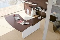 contemporary executive corner office desk DEDALUS by Perin, Topan archiutti