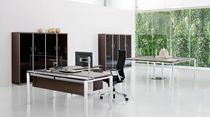contemporary executive corner office desk HADIS by Ambostudio archiutti
