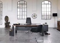 contemporary executive glass office desk TAO Sintetica Industries