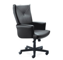 contemporary executive leather armchair MESA KI