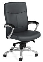 contemporary executive leather armchair FLEXAR �: 3612-2 GLOBAL totaloffice