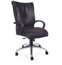 contemporary executive leather armchair GLOVE  SitOnIt Seating