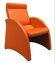 contemporary executive leather armchair (with headrest) BUTACA GALA Dynamobel