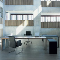 contemporary executive office desk DOUBLE YOU by Hannes Wettstein BULO