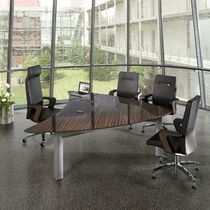 contemporary executive office desk PREMIO DARK C+P Moebelsysteme