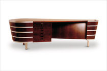 contemporary executive wooden office desk  Interna Collection