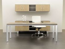 contemporary executive wooden office desk with metal structure MIRO Watson Desking