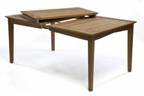 contemporary extending garden table SCALA by Marit Stigsdotter /Staffan Lind BERGA FORM