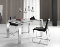 contemporary extending glass table KENYA by F. Marco INTRA