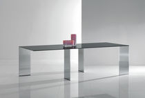 contemporary extending glass table AXIS by O.Buratti &amp; G.Buratti Acerbis International