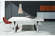 contemporary extending lacquered table MAX Sicea