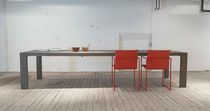 contemporary extending solid wood table EXTENSO by Willem van Ast Arco Contemporary Furniture