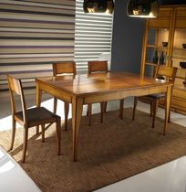 contemporary extending solid wood table FLY PLATINO : F601/S ARTE BROTTO