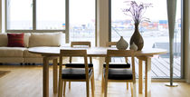 contemporary extending table SH750 by Strand & Hvass Carl Hansen & Son