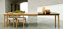 contemporary extending table SH900 by Strand & Hvass Carl Hansen & Son