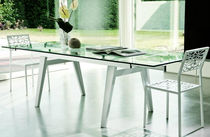 contemporary extending table (crystal) RAVENNA BERTO SALOTTI