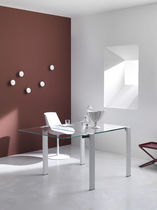 contemporary extending table (crystal) LIVINGSTONE by Giulio Mancini TONELLI Design