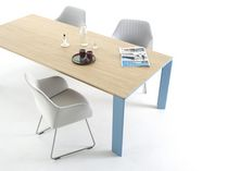 contemporary extending wood table BRANCH Arco Contemporary Furniture