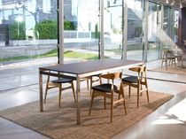 contemporary extending wood table COMMON by Willem van Ast Arco Contemporary Furniture