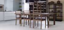 contemporary extending table VALENTIN by NWW NEUE WIENER WERKSTAETTE