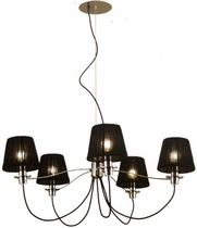 contemporary fabric chandelier NA 717 Aromas del Campo