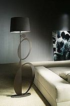 contemporary fabric floor lamp GATUSSA  COIM