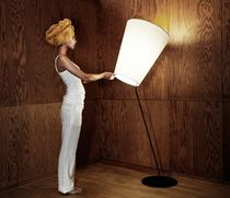 contemporary fabric floor lamp SOIHTU Lnd Design