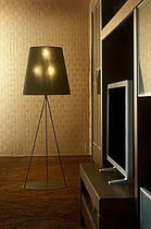 contemporary fabric floor lamp (tripod) MORFEO COIM