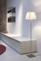 contemporary fabric floor lamp COTTON by Javier M. Borr&aacute;s Marset Iluminacion
