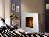 contemporary fireplace (bioethanol closed hearth) PETITE OPERA direct cheminée